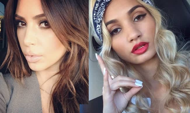 Kim Kardashian and Pia Mia