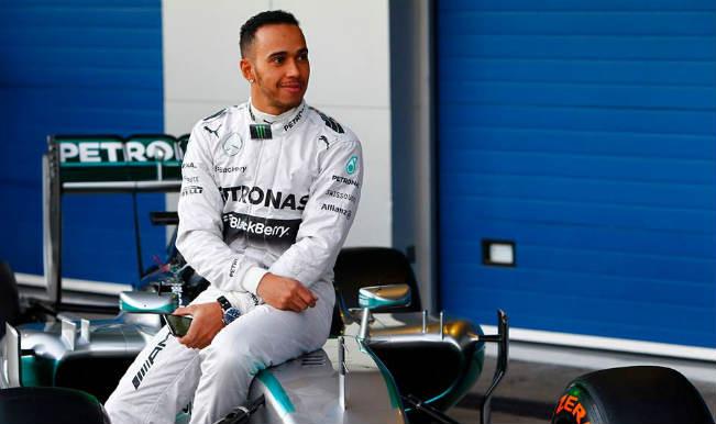 Lewis Hamilton claims pole position for Australian Grand Prix
