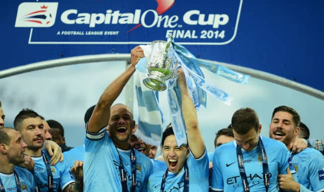 Can Manchester City's Capital One Cup win kickstart a domestic treble?