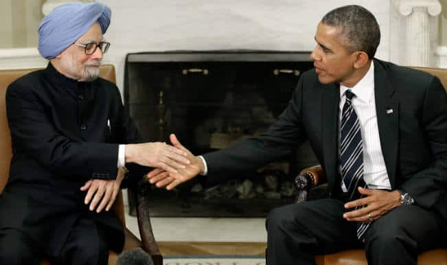 Manmohan and Barack Obama