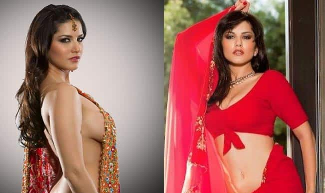 Sunny Leone can look sexy even in a traditional sari!