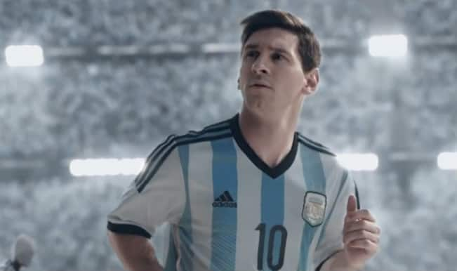 Lionel Messi is ready for FIFA World Cup 2014, are you?