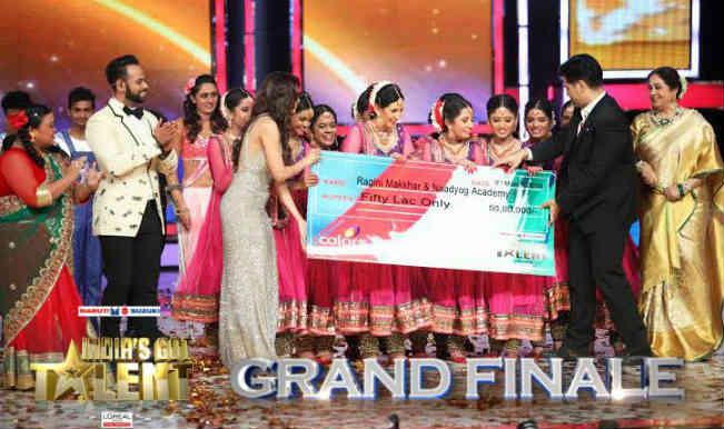 Raagini Makkar and her dance troupe Naadyog bag the India's Got Talent Season 5 Trophy