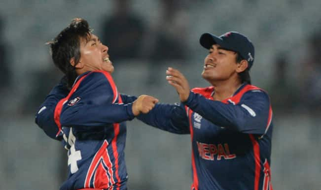 Nepal set Afghanistan 142 to win after slow start
