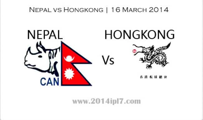 ICC World T20 2014 Preview: Nepal and Hong Kong face-off each other in battle of equals