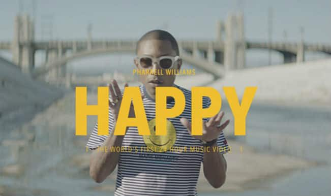 Pharrell's 'Happy' makes people happy, creates online video campaign with the UN!