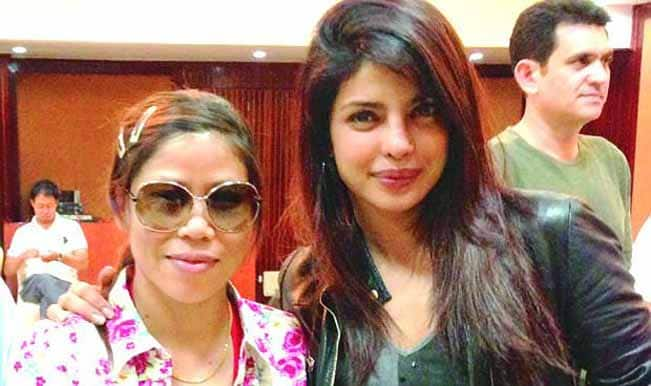 Priyanka Chopra's first look as Mary Kom revealed