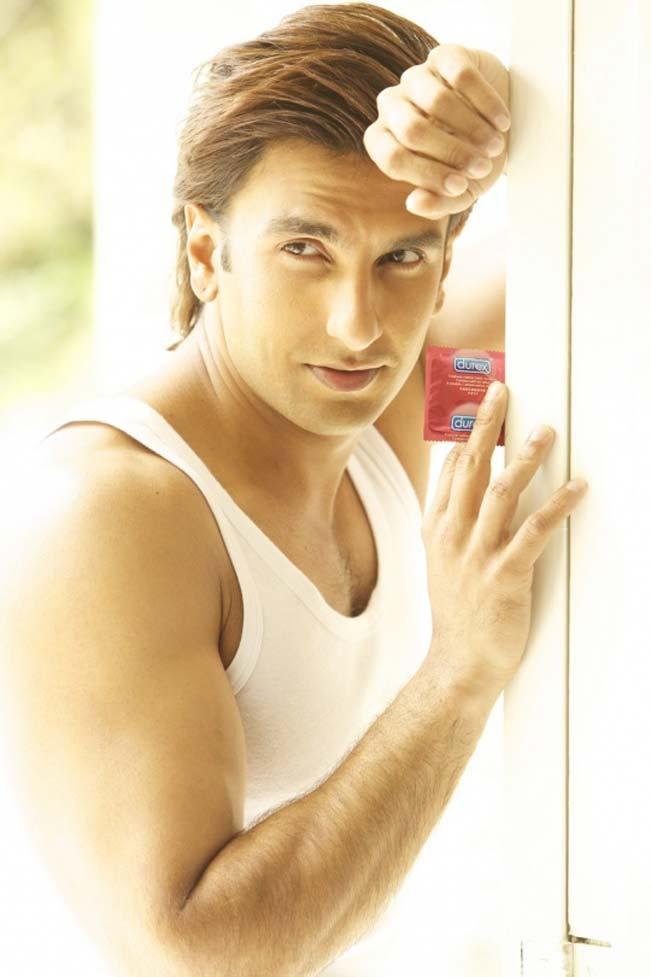 Ranveer Singh condom ad