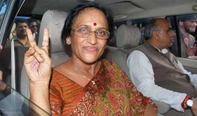 Congress leader Rita Bahuguna Joshi defends party candidate Masood