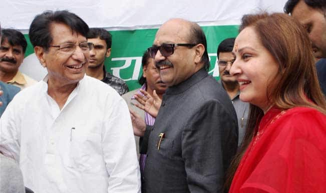 RLD-chief-Ajit-Singh-with-MPs-Jaya-Prada-and-Amar-Singh-after-they-joined-his-party