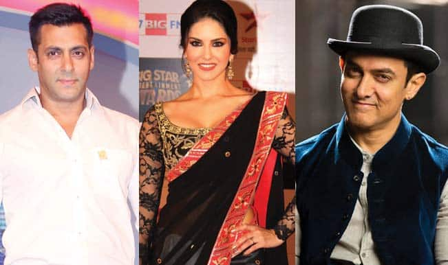 Sunny Leone following Aamir Khan and Salman Khan's footsteps!