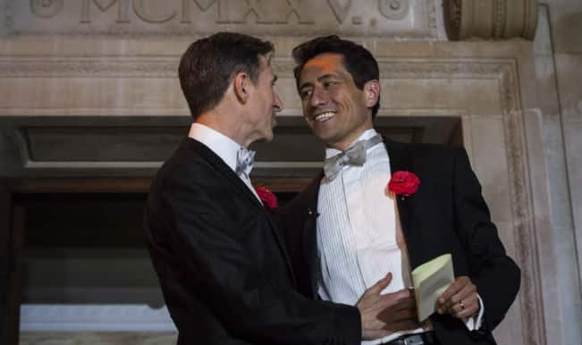 UK holds the first of same sex weddings