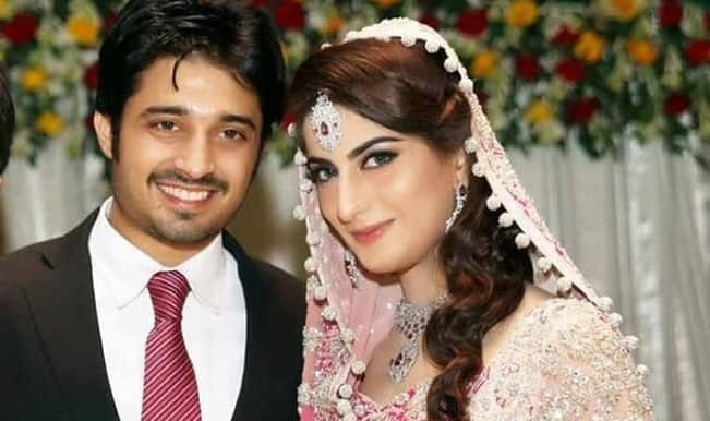 Pakistani actress Sana Khan & Babar Khan danced to Bollywood song Tum Hi Ho in wedding video