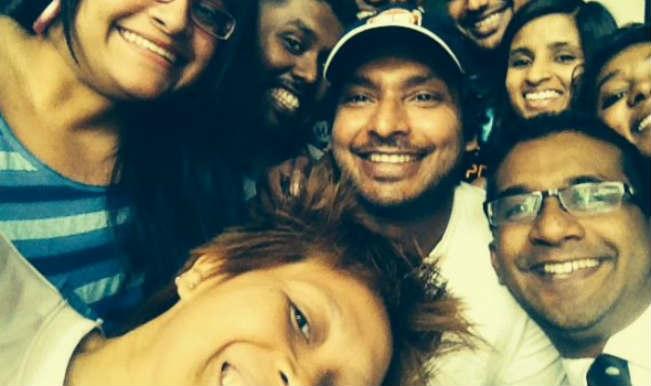 Sangakkara selfie123