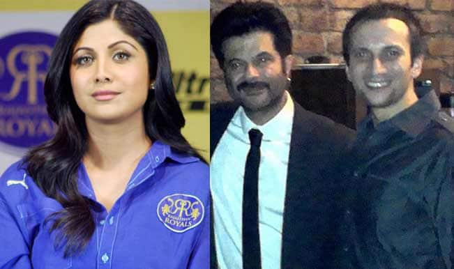 Shilpa Shetty, Anil Kapoor and Nimish Chheda