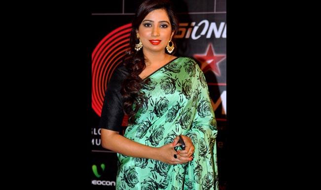 Shreya Ghoshal at Gima Red Carpet