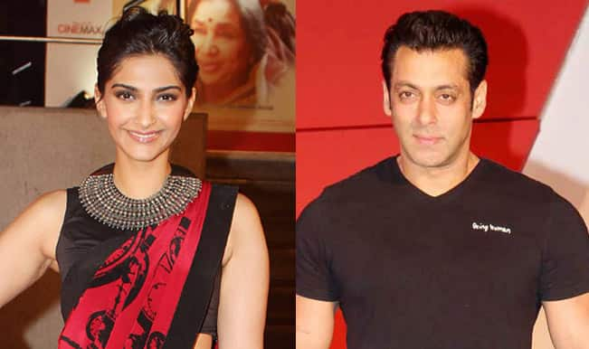 Sonam Kapoor and Salman Khan