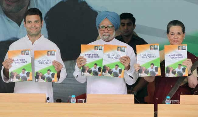 Congress promises 8% growth, 10 crore jobs in next 3-years in its manifesto