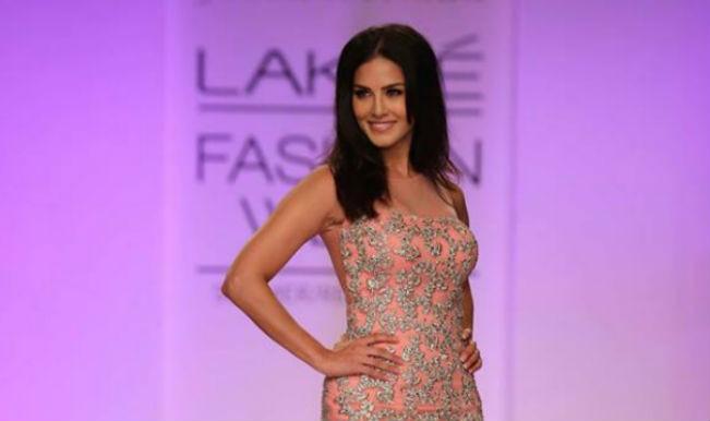 Sunny Leone at LFW 2014
