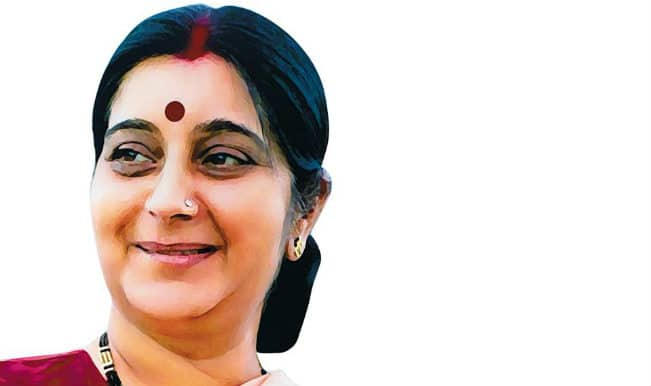 BJP's Sushma Swaraj requests people to not waste vote on AAP!