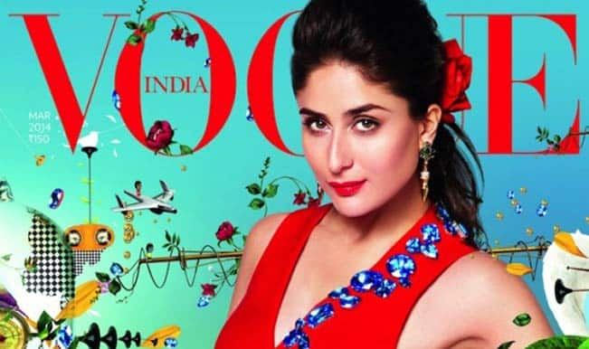 Kareena Kapoor turns Flower Child for Vogue India cover: watch video!