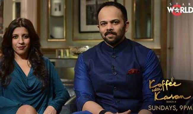 Koffee with Karan 4 promo: Rohit Shetty and Zoya Akhtar fight for the hamper!