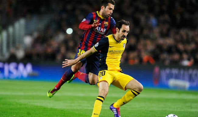 In pics: Barcelona draw 1-1 against Atletico Madrid in Champions League