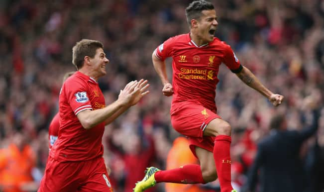 Liverpool grab exciting 3-2 win against Manchester City to claim strong hold on title challenge