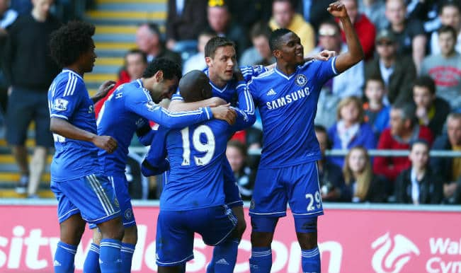 English Premier League: Chelsea beat Swansea 1-0 to stay hot on Liverpool's trail