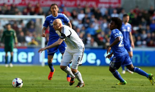 In pics: Chelsea beat Swansea City 1-0 in EPL