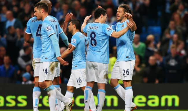 Manchester City win 3-1 against West Brom to keep EPL title challenge alive