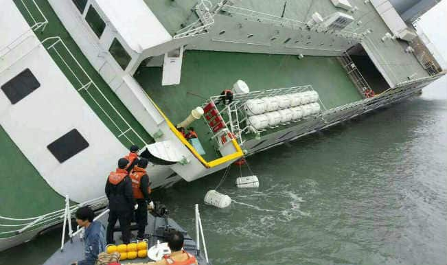 Ship carrying 471 passengers sinking off South Korean coast