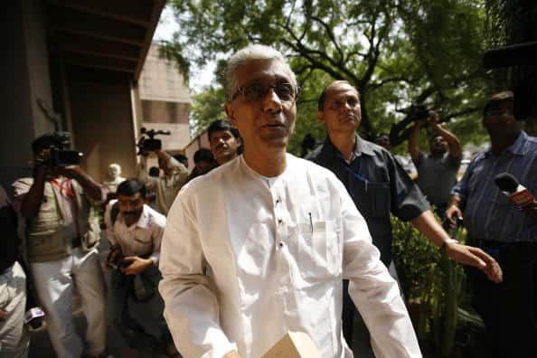 Tripura Chief Minister Manik Sarkar's CPM continues to a strong contender for the Tripura West Lok Sabha seat