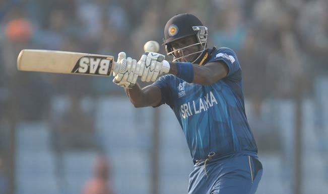 ICC World T20 2014, Sri Lanka vs West Indies: Angelo Mathews onslaught propels Sri Lanka to 160