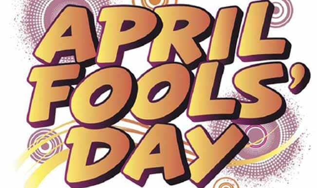 April Fools' Day: Top 5 Pranks to pull on your friends and colleagues