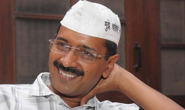 Arvind Kejriwal slapped during Delhi campaign