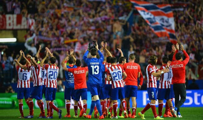 Atletico Madrid see off challenge from Barcelona to qualify for the semi-finals of the Champions League