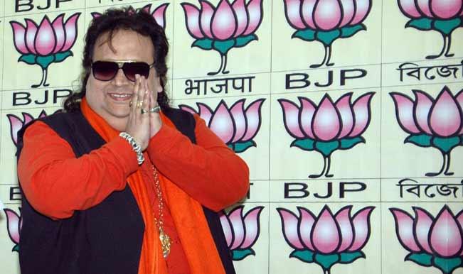 "BJP candidate Bappi Lahiri croons ""De De Pyar De, De De vote de"" on his way to parliament"