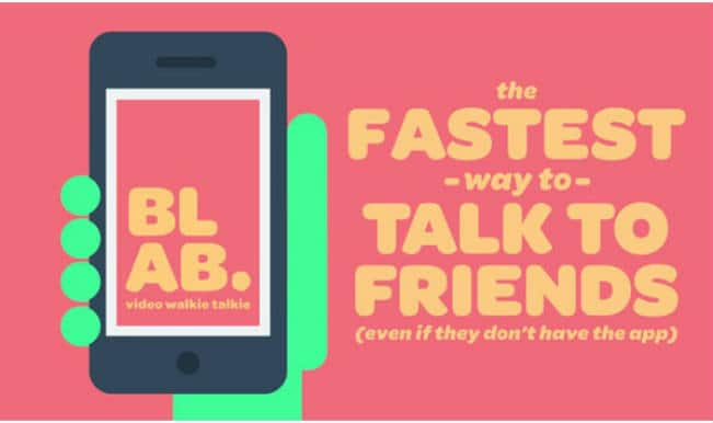 Blab: A new app that lets you send video messages instantly!