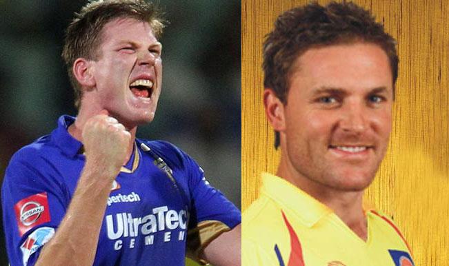 IPL 2014, Chennai Super Kings (CSK) vs Rajasthan Royals (RR): Brendon McCullum vs James Faulkner