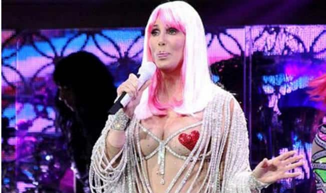 Cherished Cher shocks everyone by wearing only nipple pasties at the age of 67