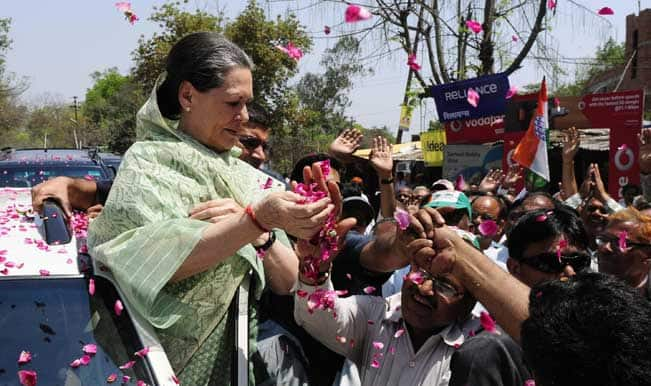 Congress-president-Sonia-Gandhi-during-a-roadshow-in-Rae-Bareli-of-Uttar-Pradesh-o