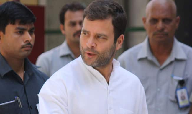 Rahul sharpens attack on Modi over development, personal life