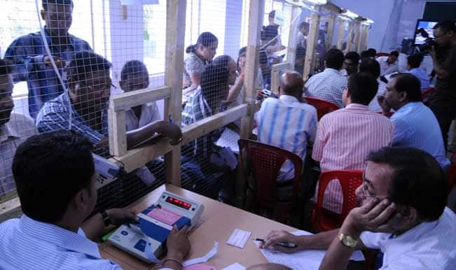 Nearly 71 percent voting in Lakshadweep