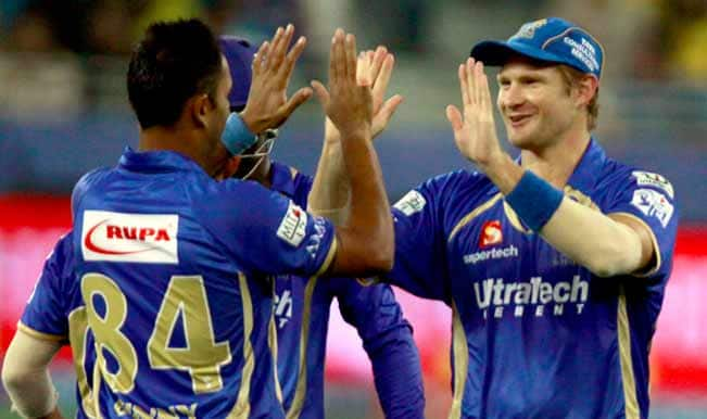 Live Score Update, IPL 2014, Rajasthan Royals (RR) vs Royal Challengers Bangalore (RCB): Rajasthan win by 6 wickets