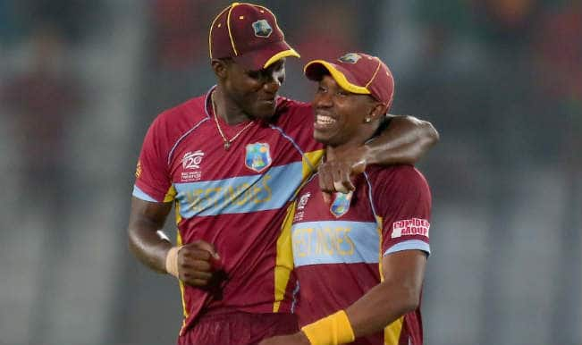 Darren Sammy and Dwyane Bravo