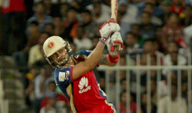 Kolkata Knight Riders (KKR) vs Royal Challengers Bangalore (RCB), Live Cricket Score, IPL 2014: Match 11 at Sharjah