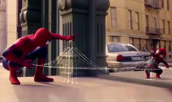 Evian Spider-Man ad