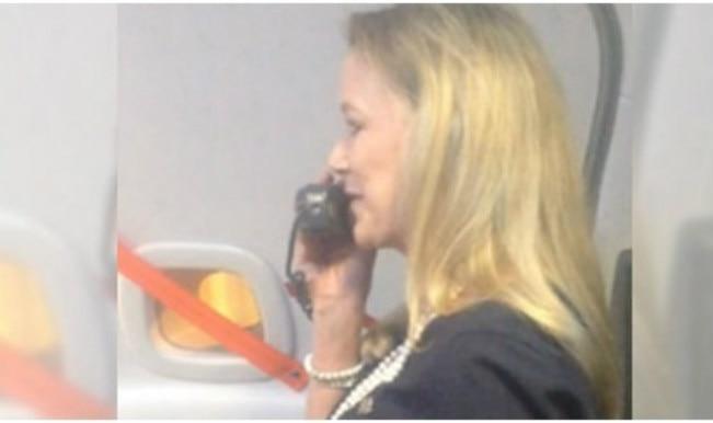 Flight attendant gives a hilarious safety instruction speech: Watch the video!