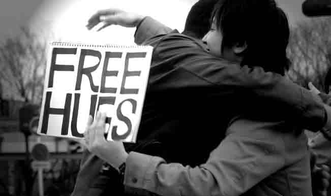 Free Hugs video by Juan Mann is voted as YouTube Video of the Year